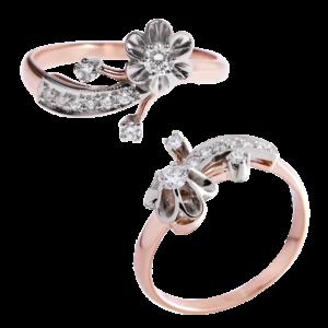 Кольцо из золота с бриллиантами Арт 0101148