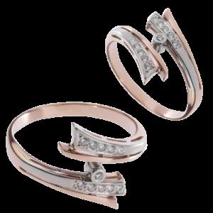 Кольцо с бриллиантами Арт 0101299