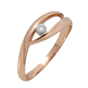 Кольцо из золота с бриллиантом Арт0101357
