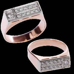 Кольцо из золота с бриллиантами Арт 0101366