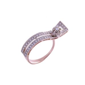 Кольцо из золота с бриллиантами Арт0101393