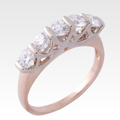 Кольцо из золота с бриллиантами Арт 0101400