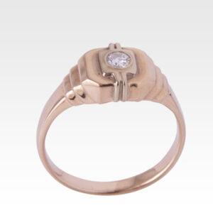 Кольцо из золота с бриллиантами Арт 0101414