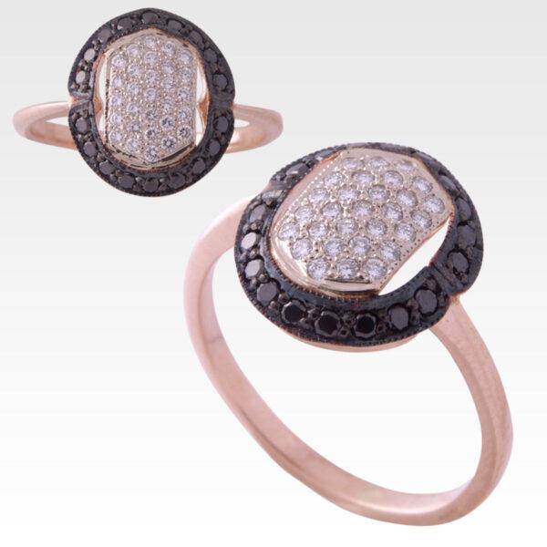 Кольцо из золота с бриллиантами Арт 0101451
