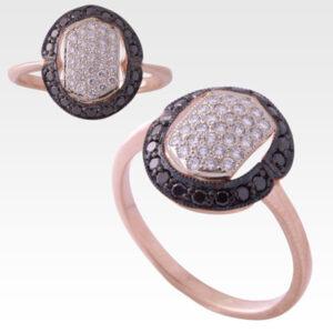 Кольцо из золота с бриллиантами Арт0101451