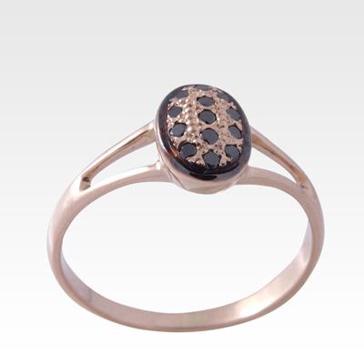 Кольцо из золота с бриллиантами Арт0101490