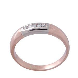 Кольцо из золота с бриллиантами Арт0101512