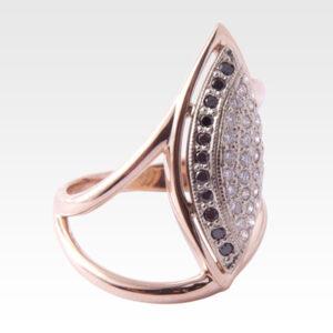 Кольцо из золота с бриллиантами Арт 0101532