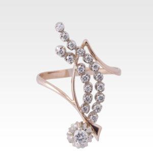 Кольцо из золота с бриллиантами Арт 0101535