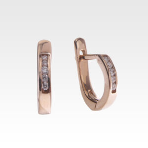 Серьги из золота с бриллиантами Арт0102009