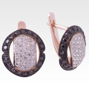 Серьги из золота с бриллиантами Арт0102242