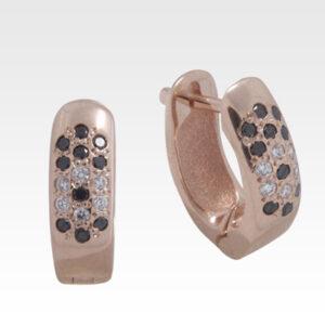 Серьги из золота с бриллиантами Арт0102277