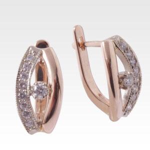 Серьги из золота с бриллиантами Арт0102301