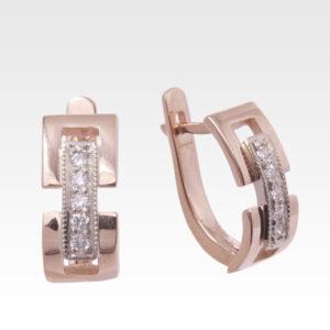 Серьги из золота с бриллиантами Арт0102303
