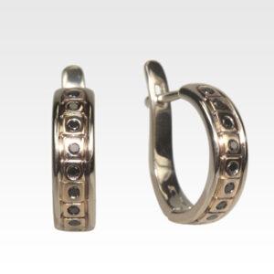 Серьги из золота с бриллиантами Арт0102351