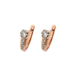 Серьги из золота с бриллиантами Арт0102487