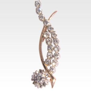 Подвеска из золота с бриллиантами Арт0103043