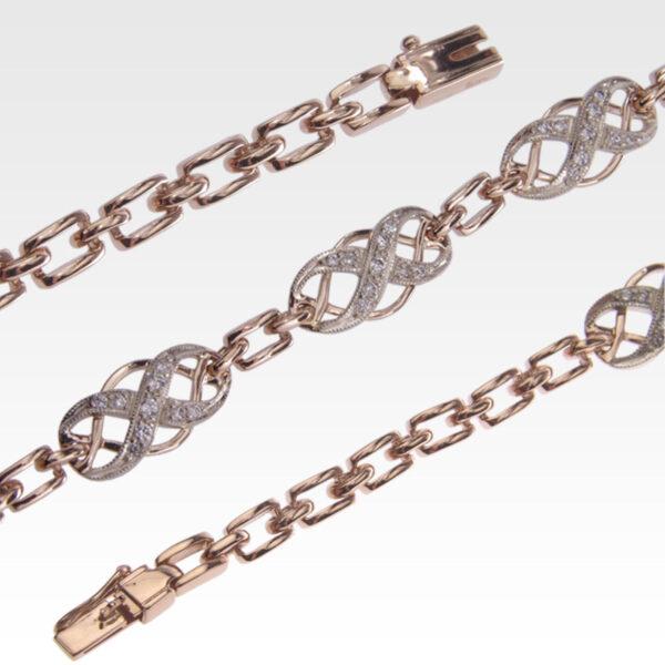 Браслет из золота с бриллиантами Арт0104017