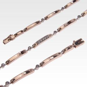 Браслет из золота с бриллиантами Арт0104021