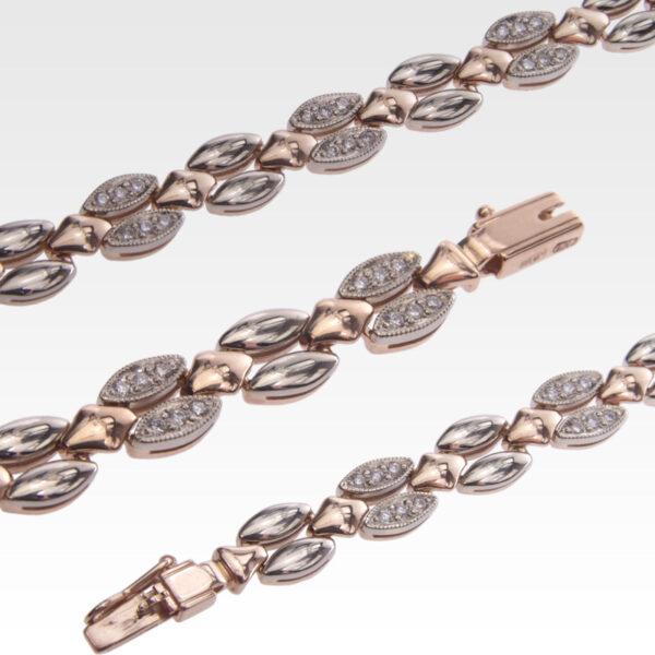 Браслет из золота с бриллиантами Арт0104027
