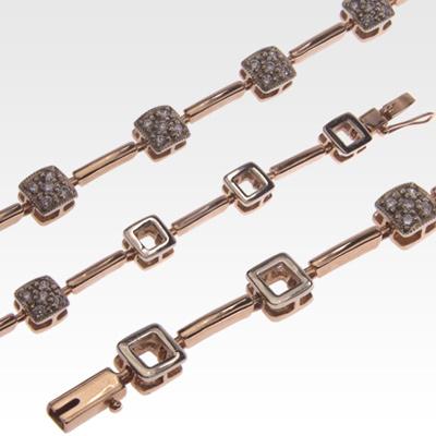 Браслет из золота с бриллиантами Арт0104028