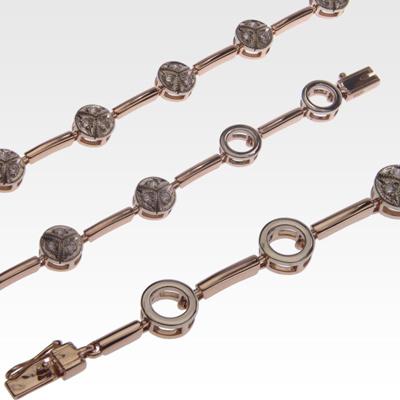 Браслет из золота с бриллиантами Арт0104029