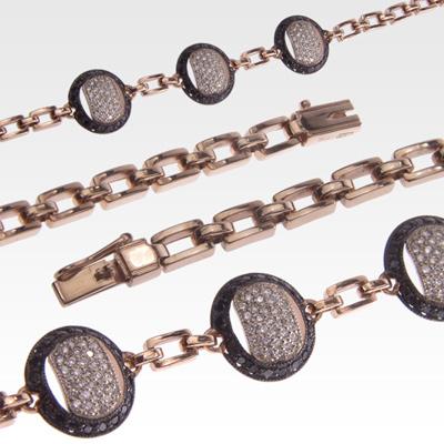 Браслет из золота с бриллиантами Арт0104032