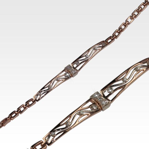 Браслет из золота с бриллиантами Арт0104055