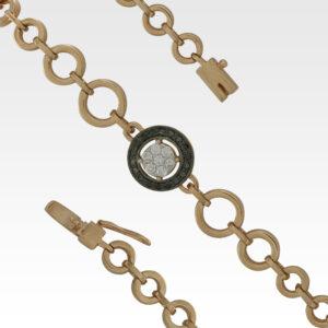 Браслет из золота с бриллиантами Арт0104068
