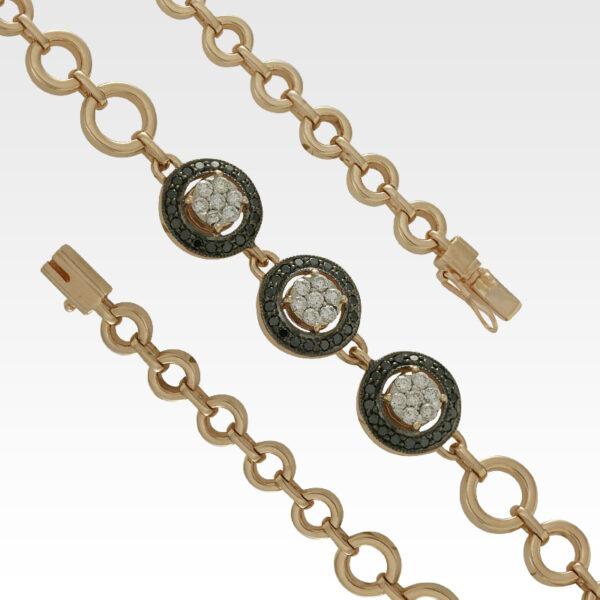 Браслет из золота с бриллиантами Арт0104069
