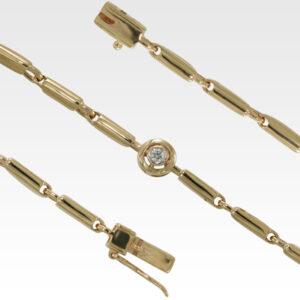 Браслет из золота с бриллиантами Арт0104076