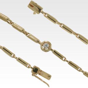 Браслет из золота с бриллиантом Арт0104076