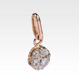 Подвеска из золота с бриллиантами Арт0111112