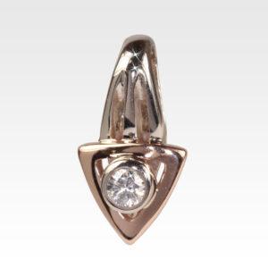 Подвеска из золота с бриллиантом Арт0111143