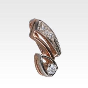 Подвеска из золота с бриллиантом Арт0111155