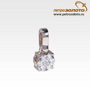 Подвеска из белого золота с бриллиантами Арт0111200