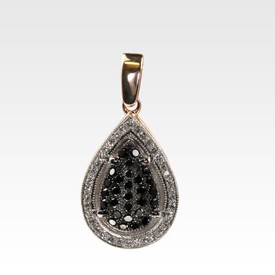 Подвеска из золота с бриллиантами арт0111212