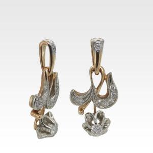 Подвеска из золота с бриллиантами Арт0111245