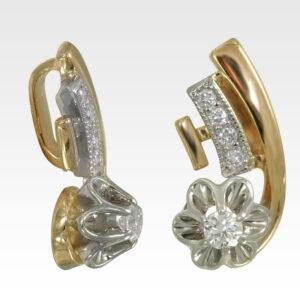 Подвеска из золота с бриллиантами Арт0111316