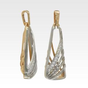 Подвеска из золота с бриллиантами Арт0111371