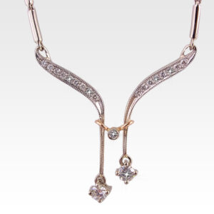 Колье из золота с бриллиантами Арт0113014