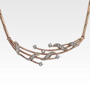 Колье из золота с бриллиантами Арт0113021