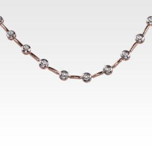 Колье из золота с бриллиантами Арт0113034