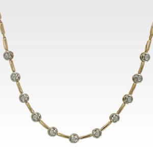 Колье из золота с бриллиантами Арт0113045