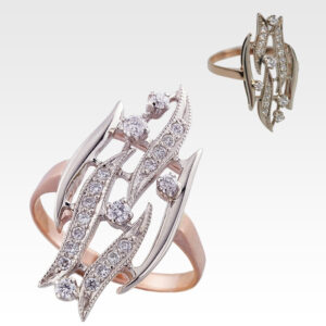 Кольцо из золота с бриллиантами АРТ0101669