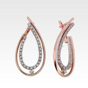 Серьги из золота с бриллиантами Арт0102371