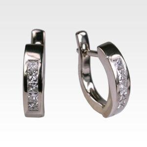 Серьги из золота с бриллиантами Арт0102398