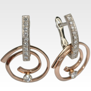 Серьги из золота с бриллиантами Арт0102400