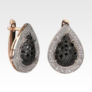 Серьги из золота с бриллиантами Арт0102822
