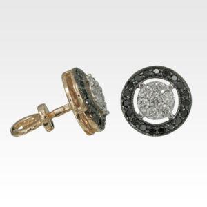 Серьги из золота с бриллиантами Арт0102888